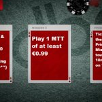 Image for the Tweet beginning: redbet online #poker: Missions 15th