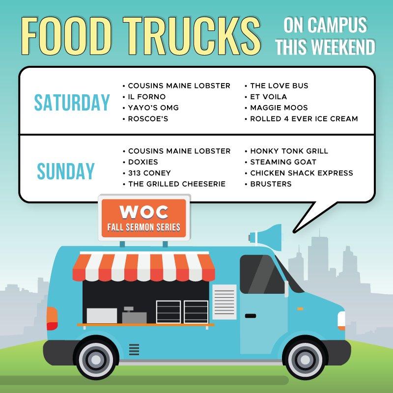 Worldoutreachchurch On Twitter Food Trucks Will Be On Campus