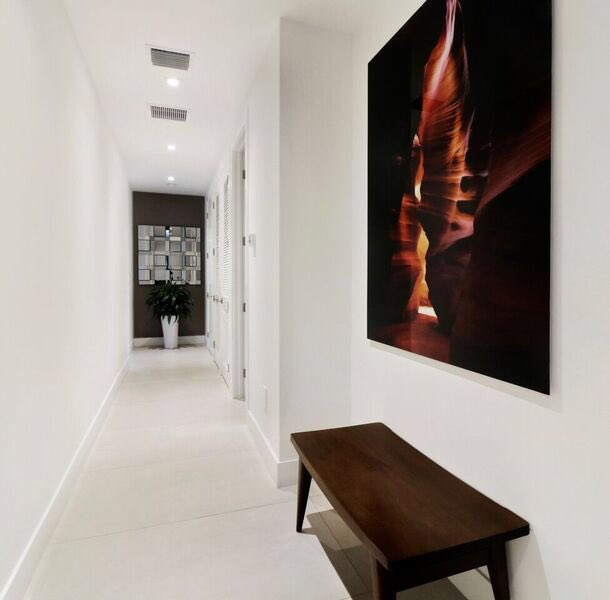 Artwork is always an important detail of our spaces and this one was no different @VStarrDesign
