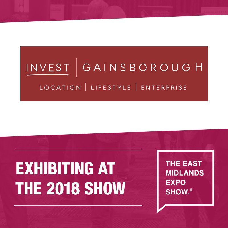 Come and see @InvestGainsboro, promoting Gainsborough as a place to live, work, visit and invest, at the East Midlands Expo on the 5th November!  Register your place today:  http:// bit.ly/2Ieklji  &nbsp;    #EastMidsHeadsUp <br>http://pic.twitter.com/iVhayM194p
