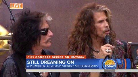 TODAY's photo on #AerosmithTODAY