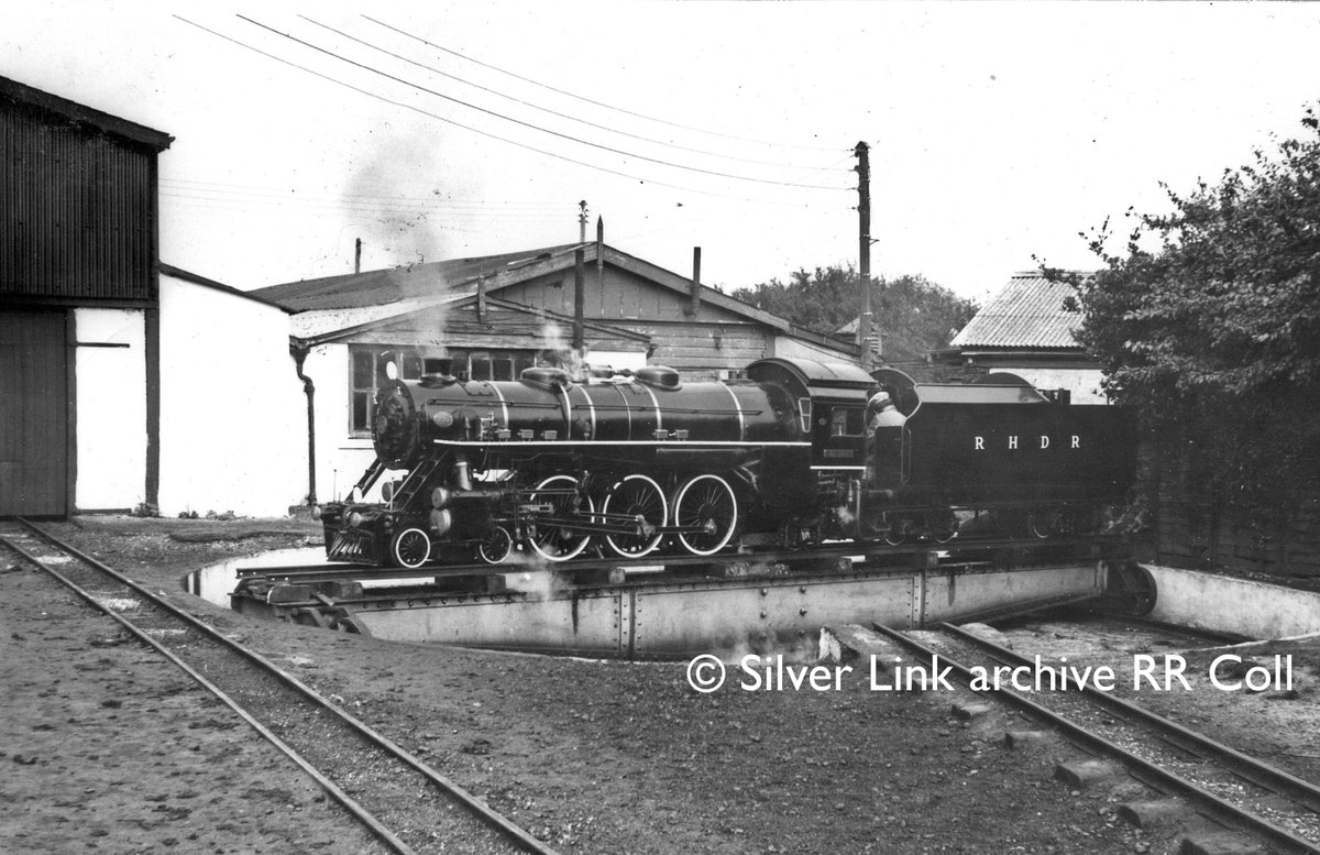 Lets travel back once more to the @RHDR to the 8 September 1969 to New Romney where we see Dr Syn on the turntable. Would you like to see more archive shots? <br>http://pic.twitter.com/bjs1TMI1Sa