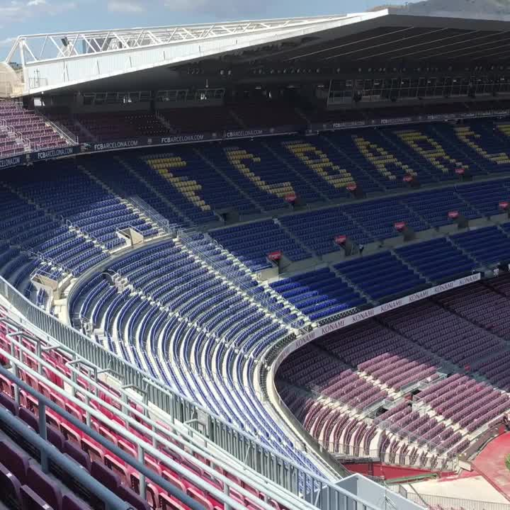 #GamperBarça �� The Camp Nou, ready for the Gamper party �� https://t.co/qhfwnkIdYO