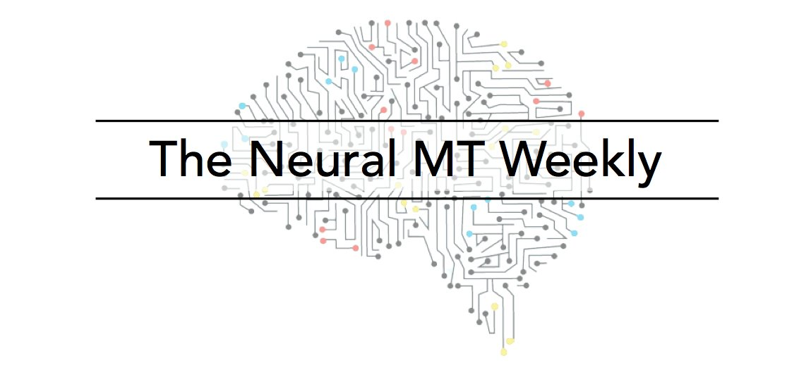 Issue #5 of The Neural MT Weekly is now online!    In this guest post, @tarfandy tackles the issue of training data for Neural MT and asks the question, &quot;Do you understand why you're using backtranslated data?&quot;  This one&#39;s not to be missed!   http:// iconictranslation.com/2018/08/issue- 5-creating-training-data-for-nmt/ &nbsp; … <br>http://pic.twitter.com/umpZuMfj0q