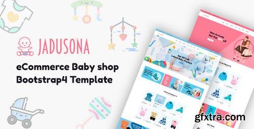 ThemeForest - Jadusona - eCommerce Baby Shop Bootstrap4 Template - 22327841 Foto