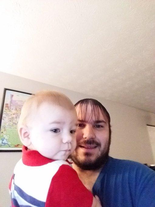 My baby boy turns into a toddler today. Happy birthday big boy!