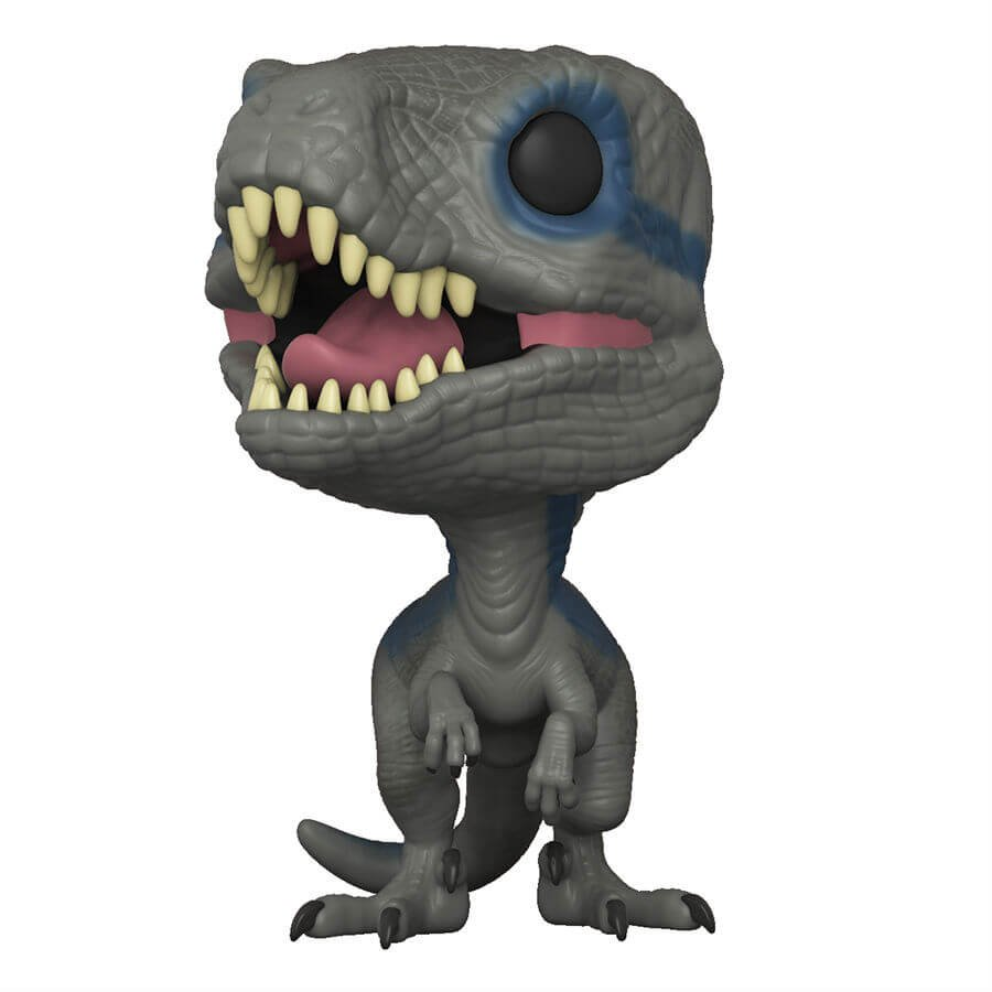 The only Velociraptor left in the world... the Blue Pop! vinyl figure from #JurassicWorld #FallenKingdom can be found here:  http:// tidd.ly/64c4d6bc  &nbsp;  <br>http://pic.twitter.com/6Gez0qj9f5