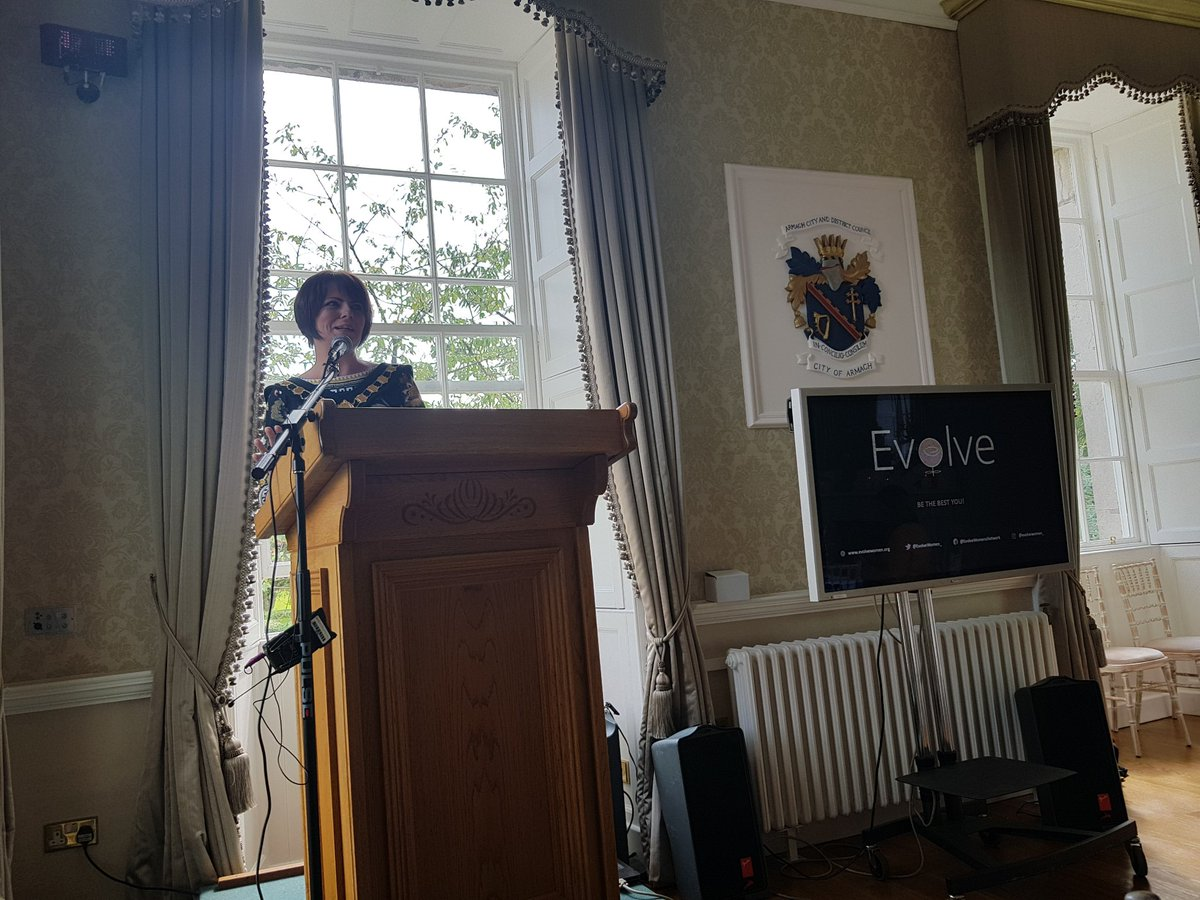 Delighted to have @flahertycom officially launch #evolve2018 ... a wonder woman and first lady mayor of @abcb_council <br>http://pic.twitter.com/9zgMiN60le