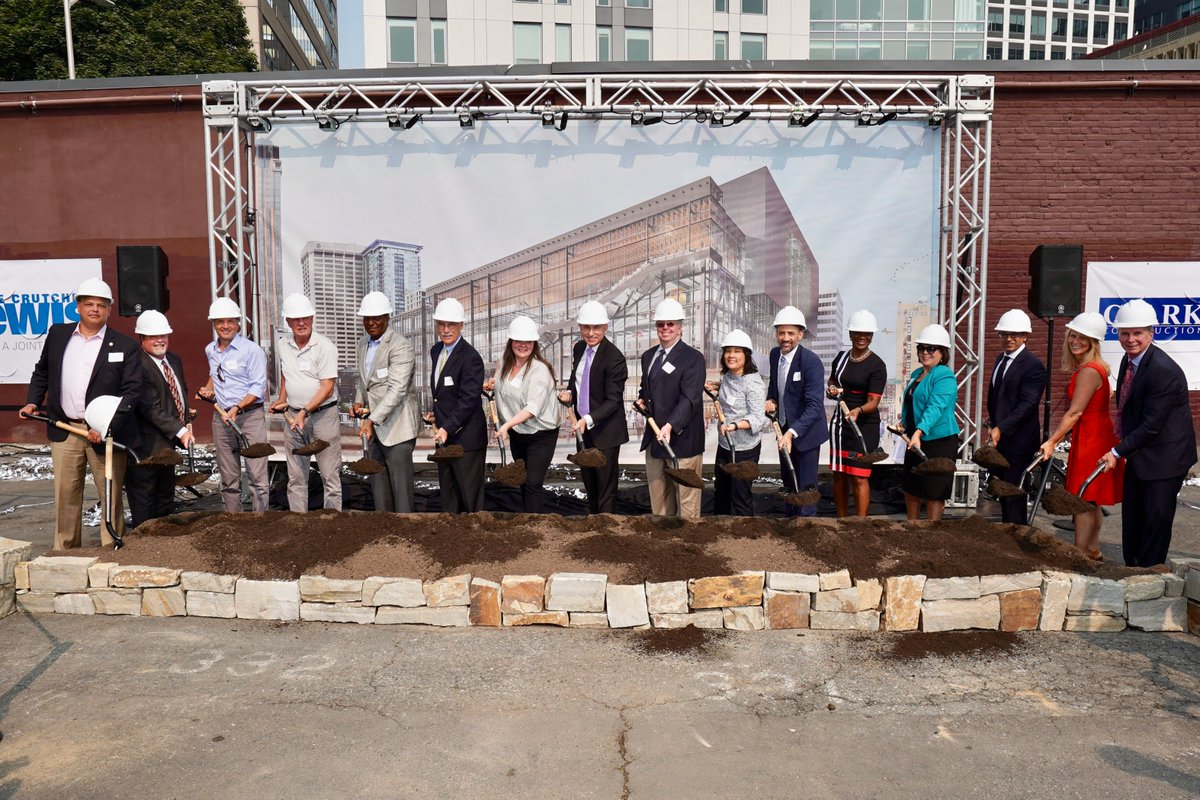Official ground breaking ceremony in Seattle yesterday for the Washington State Convention Center @VisitSeattle  #pcma #eventboss<br>http://pic.twitter.com/ILjbwwcv6K