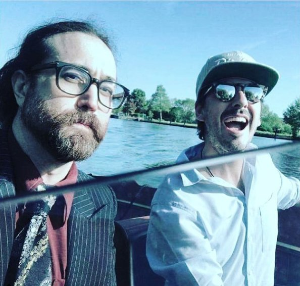 Sean Lennon also recently shared a pic with Dhani Harrison https://t.co/zV4POIIUAA https://t.co/ZC2LLFNtCP
