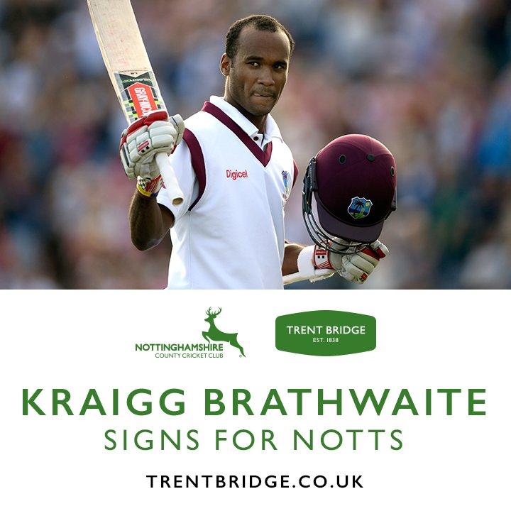 BREAKING   Kraigg Brathwaite signs on for final five @CountyChamp matches. Full story   http:// po.st/5b430Z  &nbsp;  <br>http://pic.twitter.com/gIsViP6WiQ