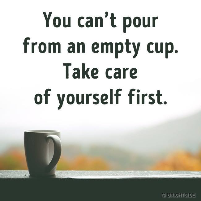 Loving yourself always involves self-compassion, and self-compassion involves self- care. How are you loving yourself today? #WellnessWednesday <br>http://pic.twitter.com/cxMBSb1Pth