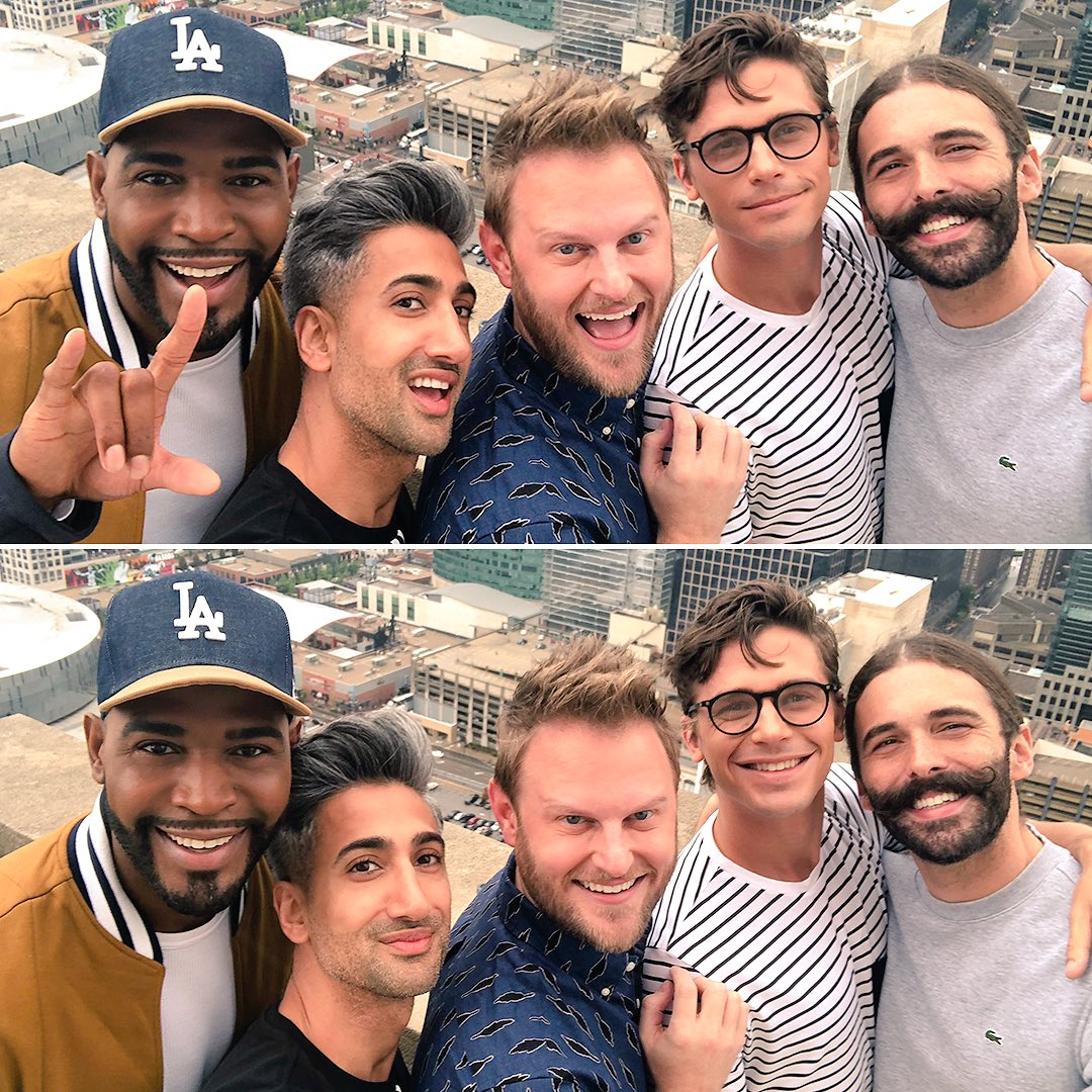 Queer Eye's photo on #CityHallSelfie