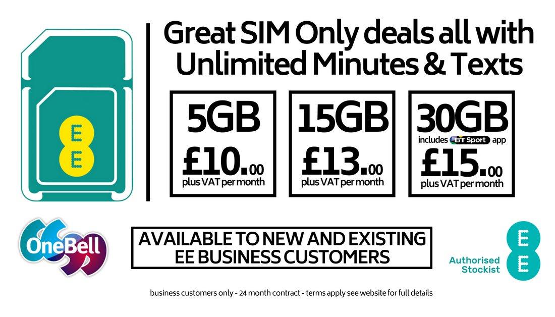 SIM-only Deals