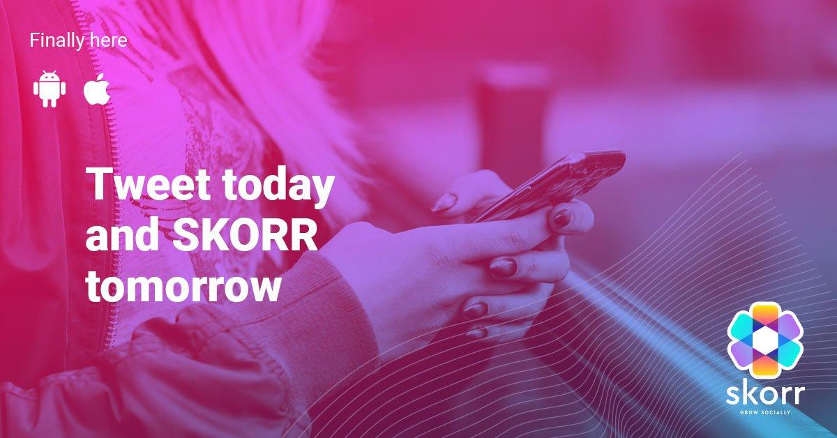 Tweet about me and you. Skorr now.  http:// bit.ly/Start_Skorring _Now_Twitter &nbsp; … @SKORRsocial #skorr #skorrgrowsocially #socialmedia #influencer #influencermarketing #control #onlinepresence #privacy #online<br>http://pic.twitter.com/4MqqrTfcVY