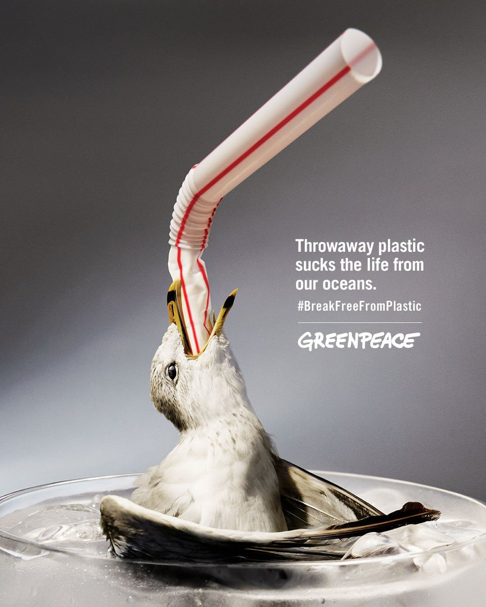 Our plastic problem has gotten out of control. We must do better than this >>  https://t.co/B2qQrNW4Az#BreakFreeFromPlastic