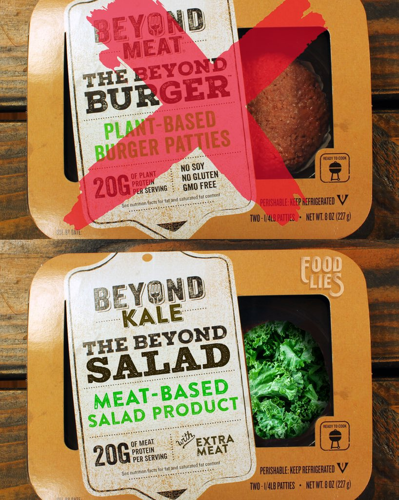 What if it was the other way around?   Do meat-eaters need a product that would let them mimic the kale they sorely miss?   Do they drool when they smell a salad being made? <br>http://pic.twitter.com/MPjpBUUYbS