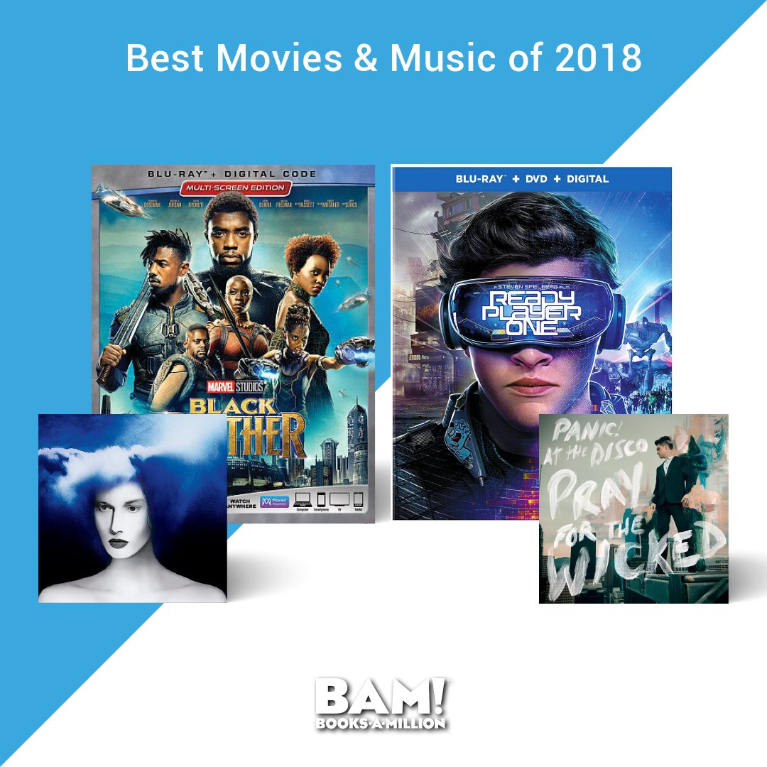 From the biggest movie blockbusters to chart topping hits, #BooksAMillion has the best in #entertainment of 2018 so far. bit.ly/2NDAOO1