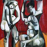 Image for the Tweet beginning: An advert with this #Picasso