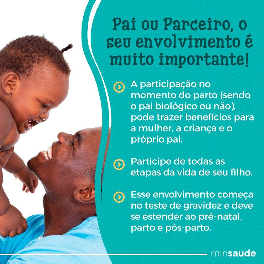 Você sabe o que quer dizer paternidade ativa? Significa ser um pai presente em todos os momentos da vida do filho. Comprometido com os cuidados e o bom desenvolvimento, além de oferecer carinho.    Saiba mais sobre a importância da paternidade ativa   https://t.co/HAmNIDqsme