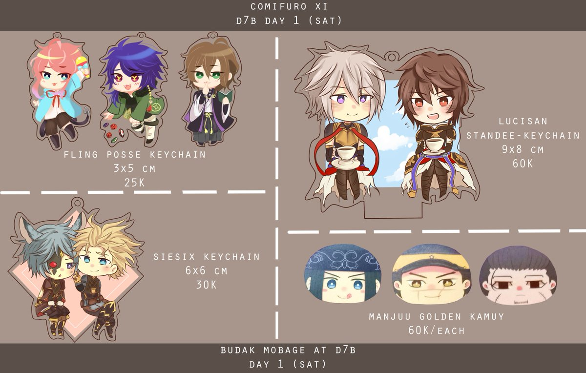 finally!! here&#39;s my final #comifuro catalogue and our table location! see you guys at day1 on saturday /o/  #comifuro11 #comifuroxi<br>http://pic.twitter.com/0tCyRIEY9M