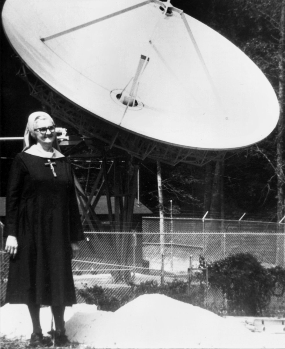 #Today marks the 37th anniversary of the launch of #EWTN Global #Catholic Network! Founded by a cloistered nun, EWTN originally aired only 4 hours per day to 60K homes. Today, EWTN airs 24/7 worldwide and also includes radio, print, news, web, and publishing. God is good! <br>http://pic.twitter.com/sU0MHe9jdH