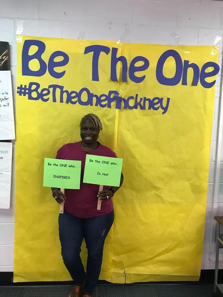 Our teachers are planning the best ways to #betheone #BeTheOnePinckney