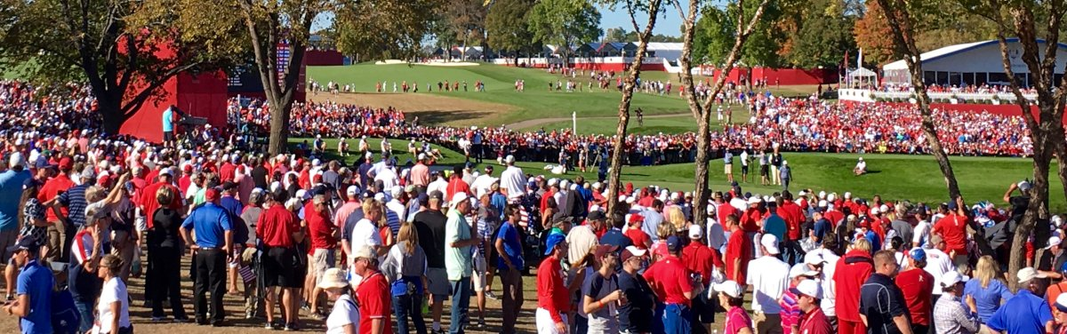#Golf is the most widely played individual sport in the world, but for the Ryder Cup it becomes a team sport. From 25 to 30 September, the finest golfers from Europe and the US will go head-to-head on the Albatros course in Saint-Quentin-en-Yvelines! bit.ly/2MSRiRe
