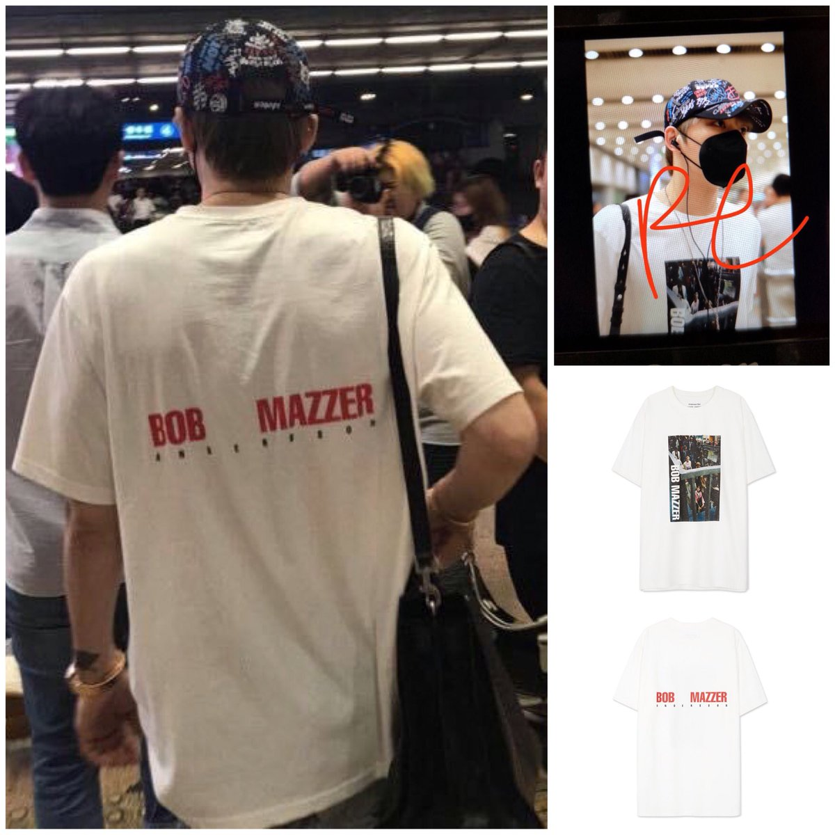 """: ANDERSSON BELL 2018 Resort Collection """"Bob Mazzer Collaboration T-Shirt"""" : $52.34 now at $36.64 : 2018.08.15 Seoul to Beijing airport : anderssonbelldotcom and Shimmerkjj thru Jaefans Global  #kimjaejoong #jaejoong #jj #김재중 #ジェジュン #金在中 #airportfashion<br>http://pic.twitter.com/df4sgtcIvS"""