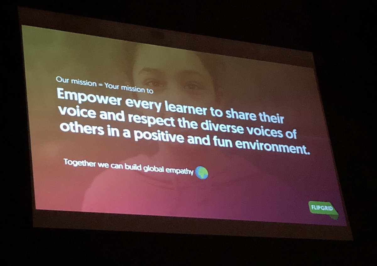 Education has the power to cultivate empathy. And empathy makes a better community and a better world #mnibsummer18 #studentvoice @MNIBSchools @design2research @Flipgrid's mission closely aligned w. @iborganization mission.<br>http://pic.twitter.com/ZG9xr7LCgW