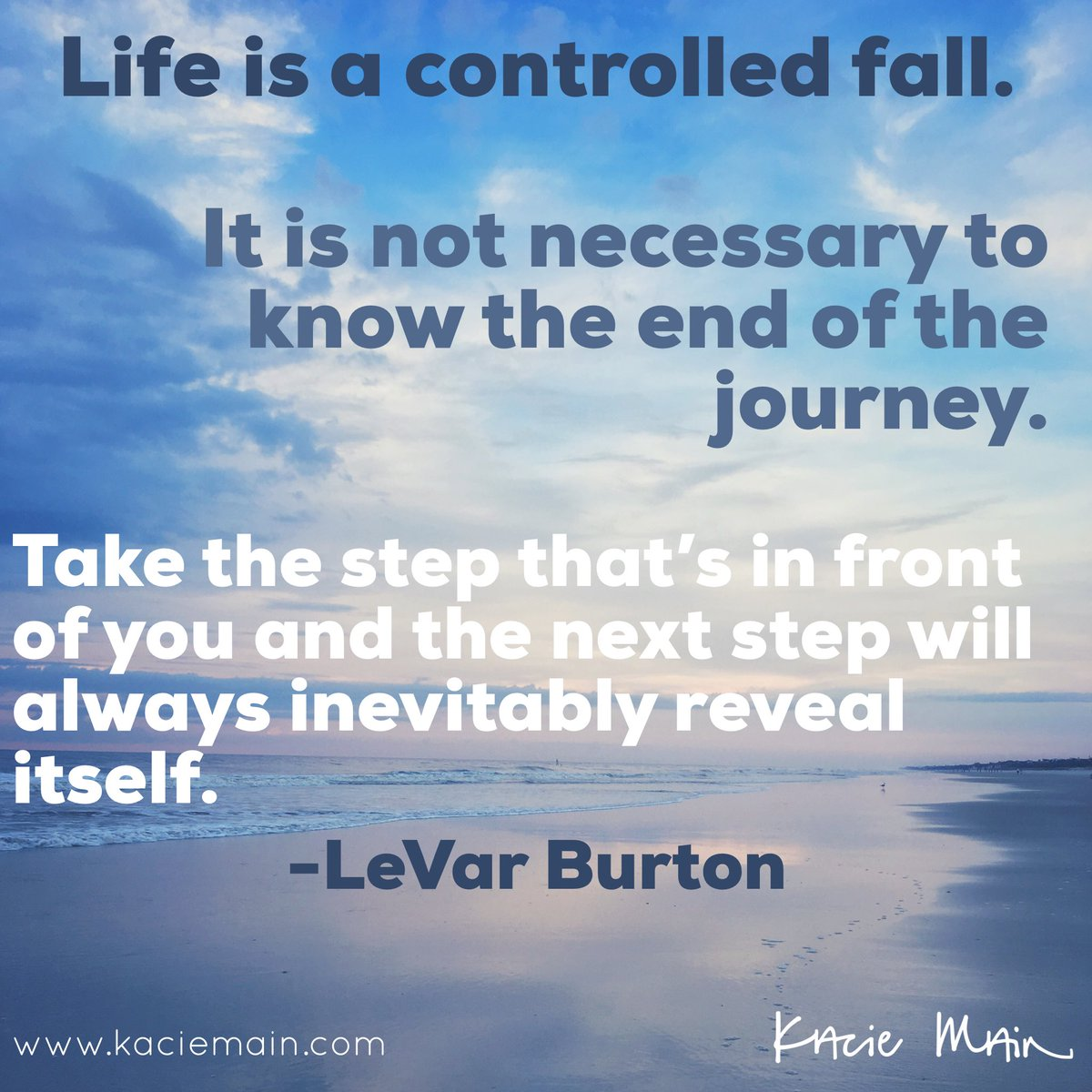 heard this quote on @kuteblackson podcast SOULTALK with @levarburton this morning and loved it. so true! #quotesforlife <br>http://pic.twitter.com/EiTfAZ4zDY
