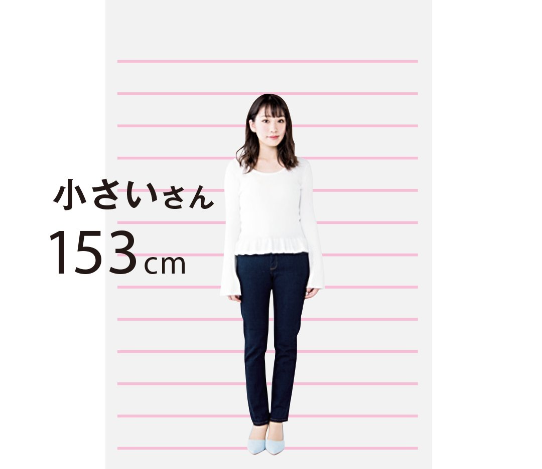 すごい誤植を見つけてしまった…大きいモデルさんの身長が大きすぎるwww