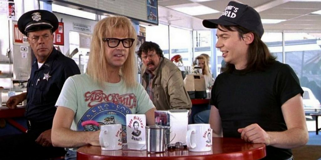 #MidWeekMusings: Which is better? Bill & Ted's Excellent Adventure, or Wayne's World? Please settle an argument for us - and show your working, cinemagoers! SC <br>http://pic.twitter.com/a5h6M31b4I