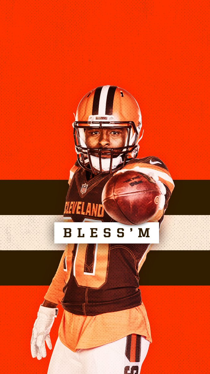 Cleveland Browns On Twitter Bless M Wallpaperwednesday