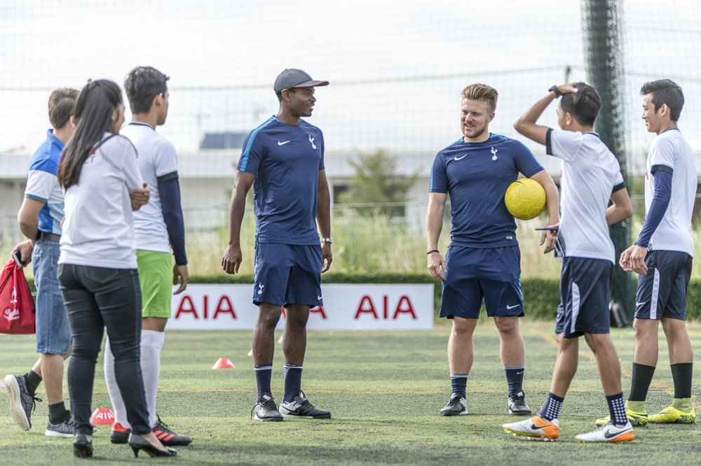 🌍 ⚽️ A year on from its launch, we look back at the achievements of our groundbreaking coaching programme being delivered across Asia in partnership with AIA. 📰 ➡️ spurs.to/AIACoaching