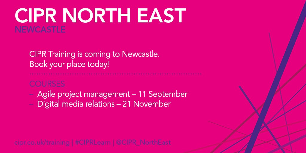 Cipr North Easts Tweet Next Month The Cipruk Agile Project