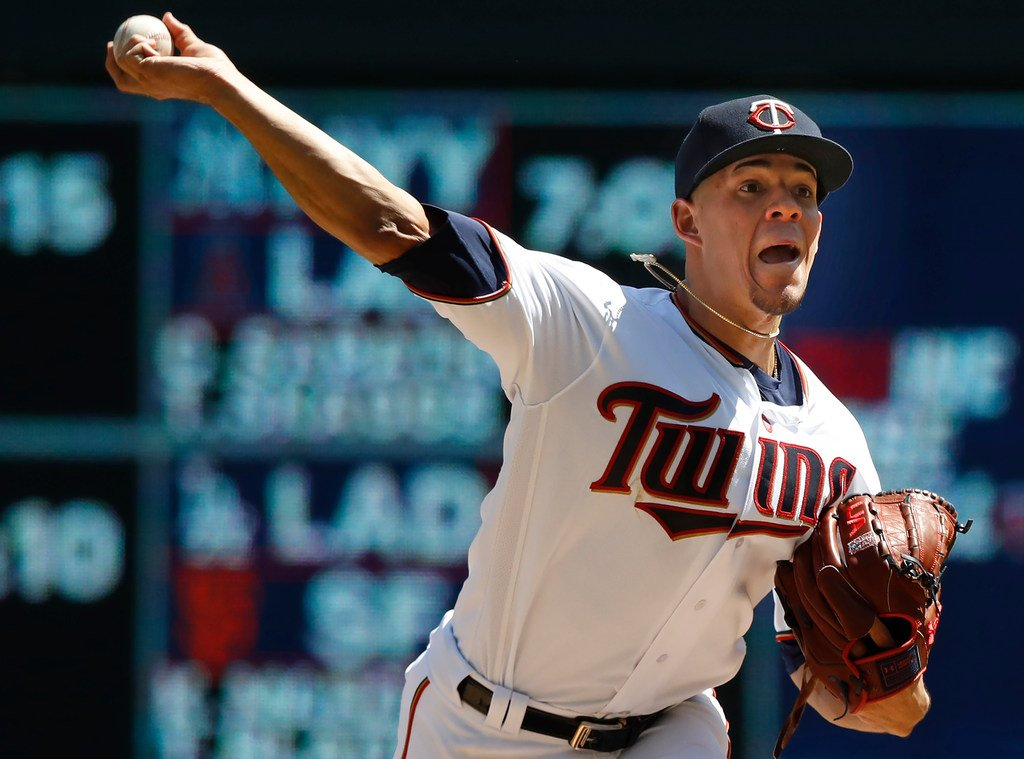 Jose Berrios pitches for #MNTwins  vs. Pirates at 12:10 ... Berrios has been a much better pitcher in night games  http:// strib.mn/2BkqjwC  &nbsp;  <br>http://pic.twitter.com/kSBjXWcZOi
