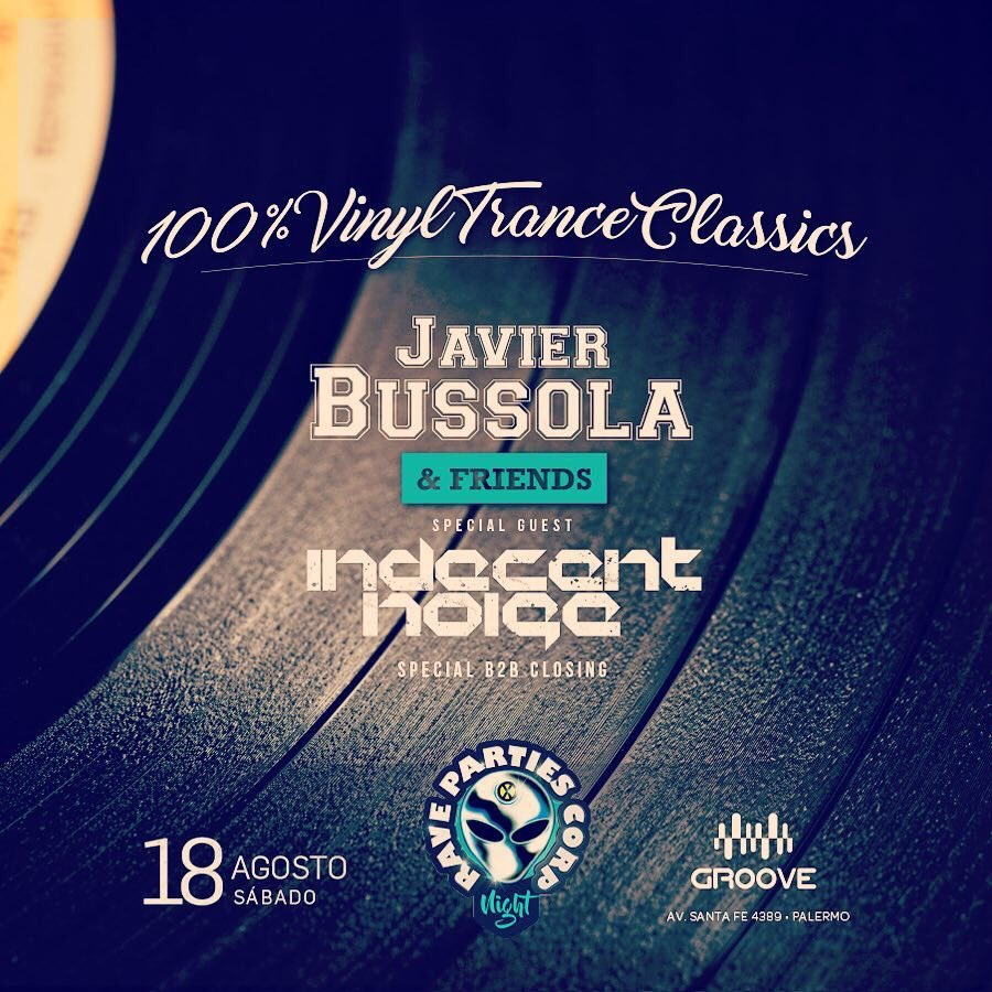 Round 2 at Groove in Buenos Aires this saturday. Playing Open to Close b2b set with my friend Javier Bussola. Vinyls only. <br>http://pic.twitter.com/ub2t7KLsfO