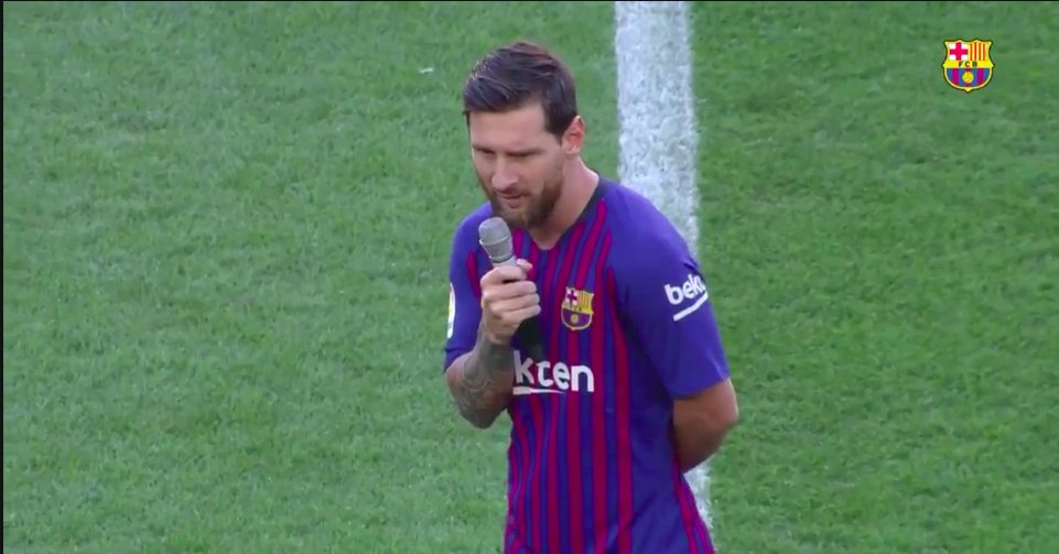 Lord's photo on Messi