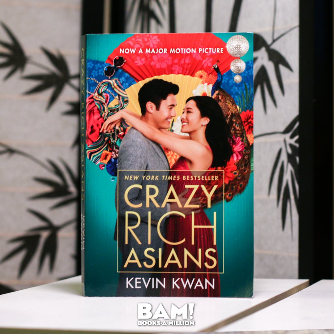 Commemorate the best-selling CRAZY RICH ASIANS hitting theaters this week with your own movie tie-in edition. This status symbol is available now at #BooksAMillion today. bit.ly/2vosnOK