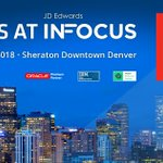 Image for the Tweet beginning: INFOCUS is only a week