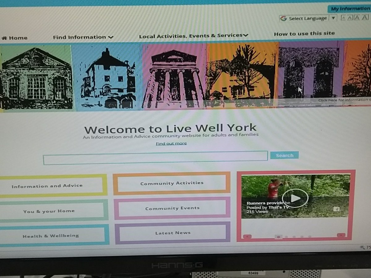 Fantastic milestone for Live Well York. Final web design completed and look we now have a Latest News section so feel free to post York community and wellbeing articles for adults and families. Greant way to raise the profile. <br>http://pic.twitter.com/IMlvP93EB5
