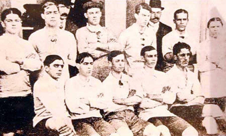 """Pablo Aro Geraldes 💚 on Twitter: """"El 15/8/1910 la selección de ..."""