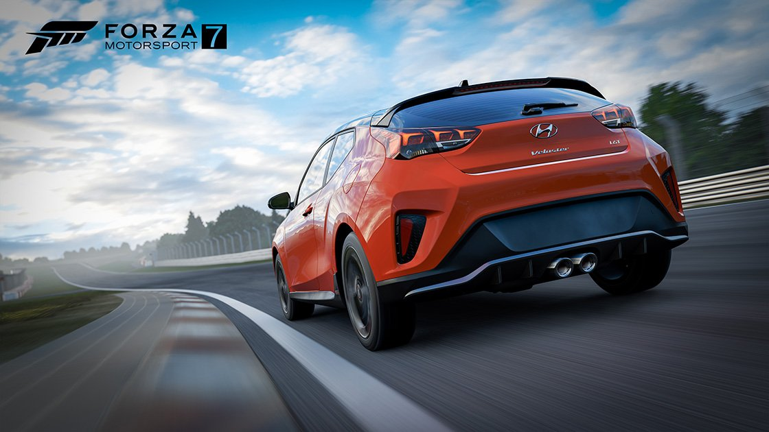 Today, #WheelandPedalWeds with @johniwanna features the #hyundaivelosterturbo IRL and in #Forza7. Plus, will the new steering angle upgrades help him become a pro drifter? Come watch and see on @WatchMixer  and @Twitch. Show starts soon. <br>http://pic.twitter.com/92lhw3Jhrj