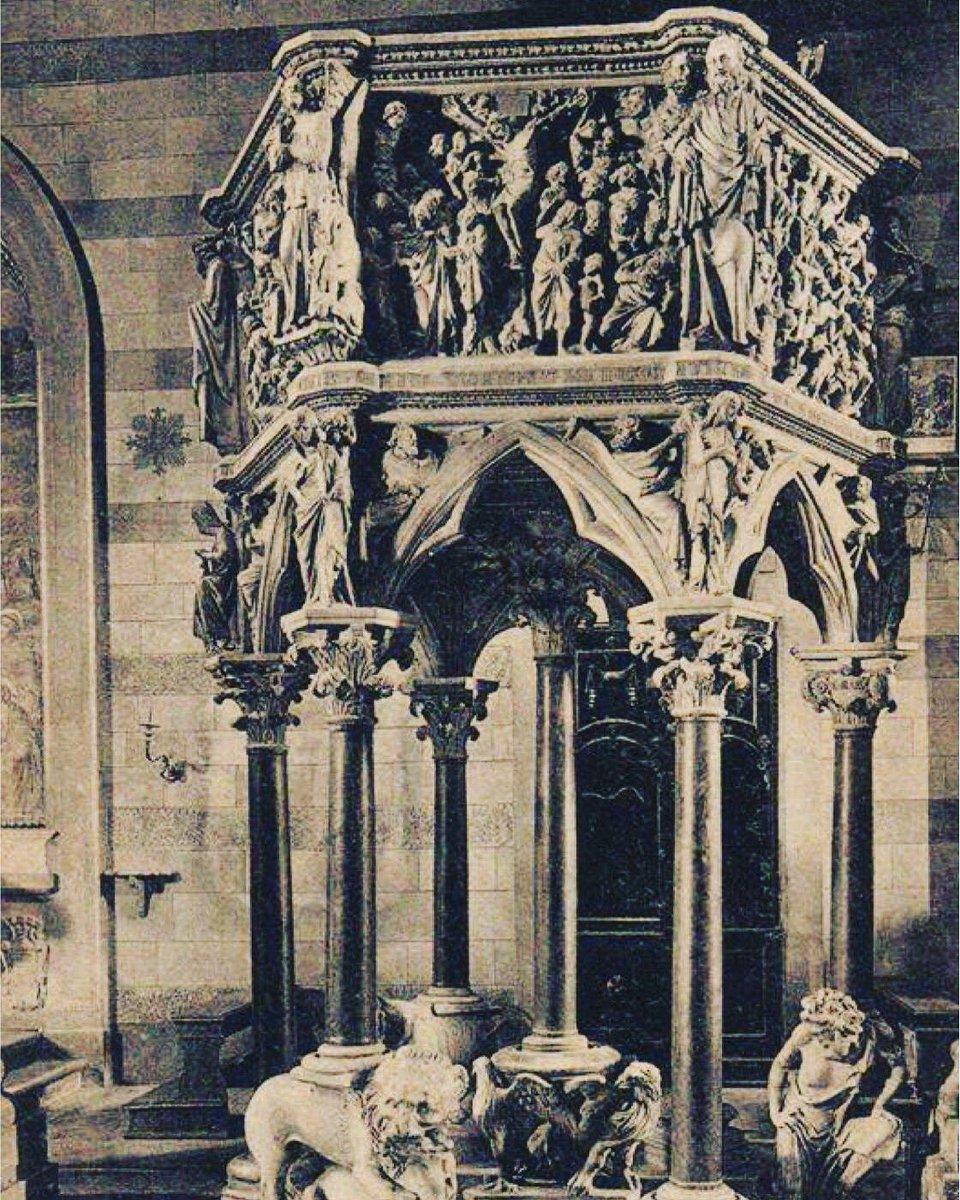 Un luogo stupendo, fuori del comune...è strano che a #Pistoia abbiano una serie completa di pulpiti di marmo...Il migliore supera di gran lunga quello famosissimo del Duomo di Pisa. Non ho alcun dubbio che sia il più bel pulpito del mondo...John Ruskin#FondazioneCaript  - Ukustom