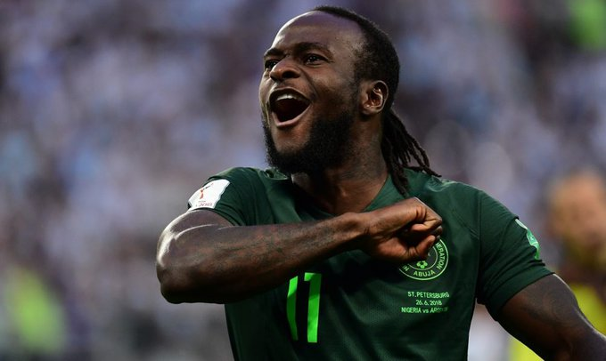 Victor Moses retires from International football at27 Foto