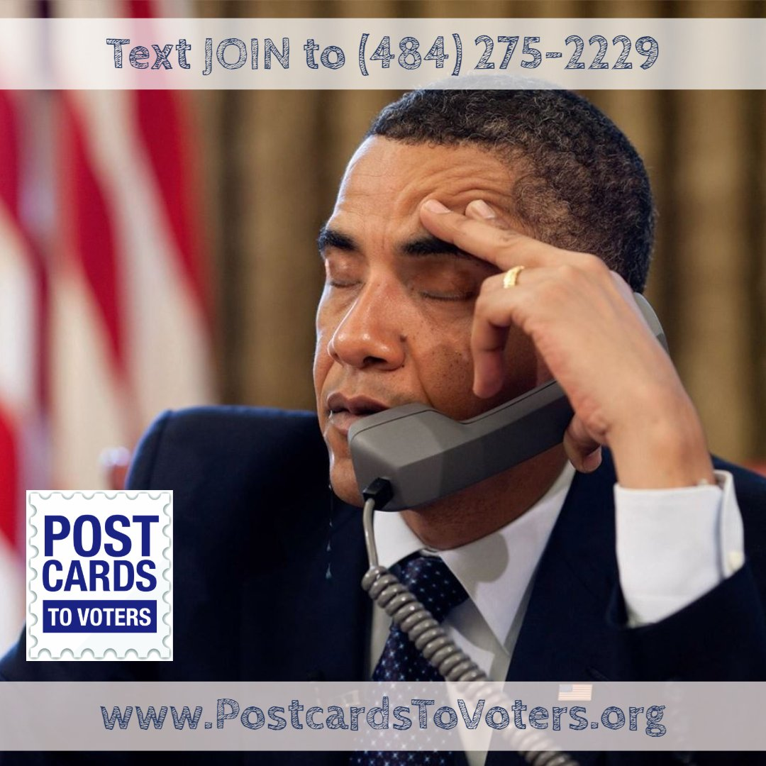 Remember volunteering to phone bank for that one campaign and every number you dialed was answered cheerfully and no one ever hung up on you?  Yeah, me neither.  Instead, write #PostcardsToVoters anytime, anywhere!  Text JOIN to (484) 275-2229 or email: Join@TonyTheDemocrat.org<br>http://pic.twitter.com/Nu5BCAwGFh