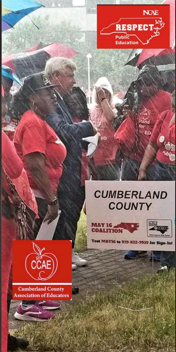 Truly honored to receive the endorsement of @ncae &amp; @CumberlandNCAE . I&#39;m a K-16 product of #NC schools &amp; know what a difference Teachers, TAs, Coaches &amp; Administrators make.  Appreciate &amp; Respect their chosen &quot;profession&quot;!  #NCAEStrong #InThisTogether #Time4NC #HB888<br>http://pic.twitter.com/6RHVcEg8gy