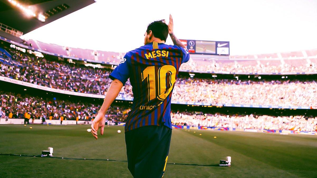 Lionel Messi edits of tonight. [@BCN_Raphi]<br>http://pic.twitter.com/ry0DzNGVwk