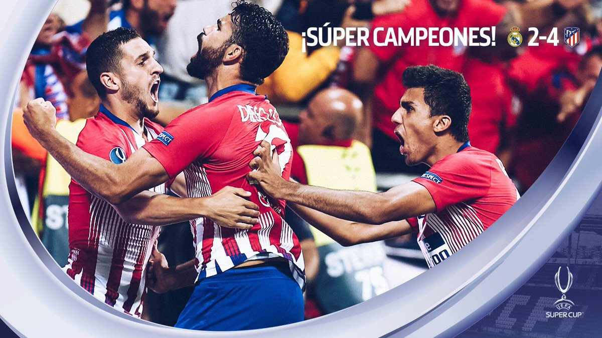 Atlético de Madrid's photo on #SuperCup